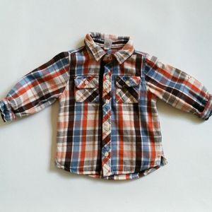 Gap Flannel Button Down